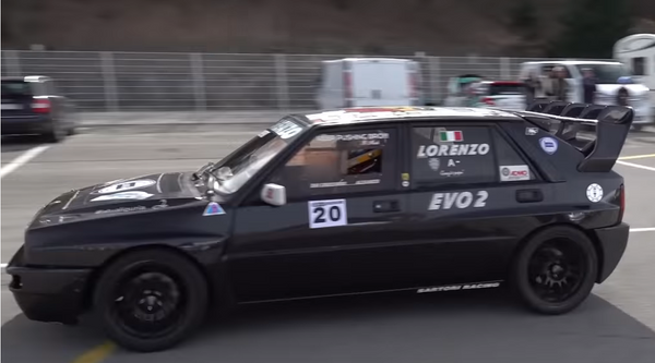 Watch A Race-Prepped Lancia Delta Evo II Go Flat-Out