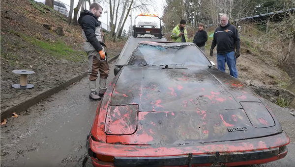 Six Classic Cars Found Sunk In A River