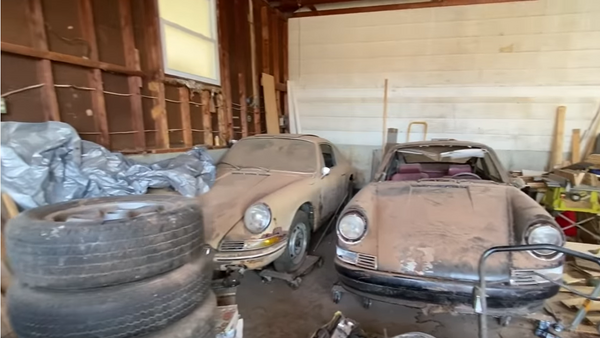 Watch Two Barn Find Classic Porsches Get Rescued