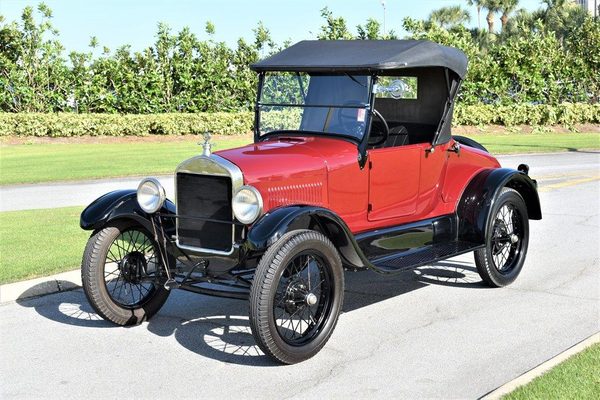 1927 Ford Model T Showcases Great Expectations
