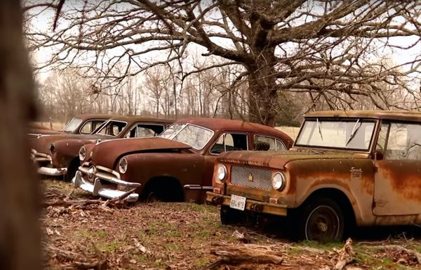 1957 Chevrolet Bel Air Barn Find Leads To Field Full Of Classics