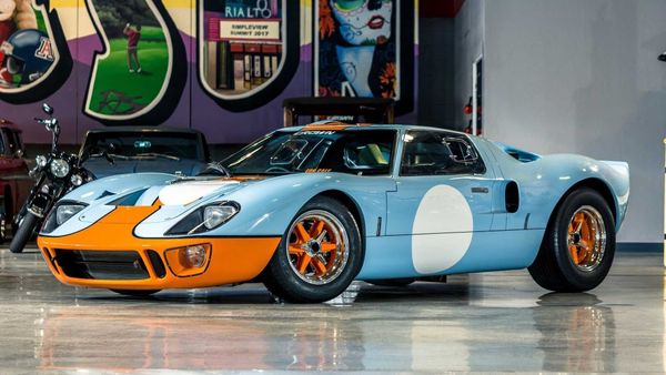 Race To This GT40 MKI With Gulf Livery