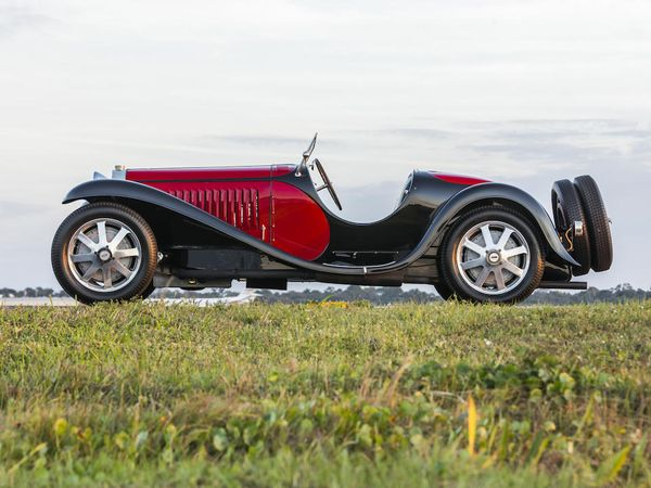 1932 Bugatti Type 55 Super Sport Roadster To Auction For Big Money
