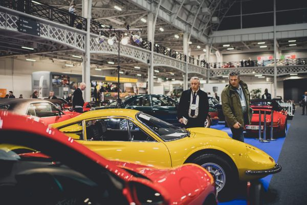 Bruce McLaren Honored At Classic Car Show In London