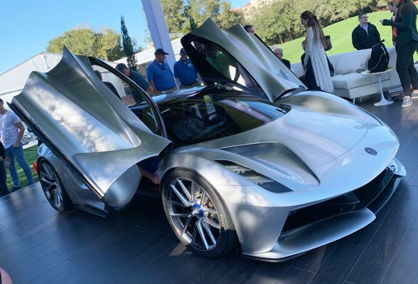 All-Electric Lotus Evija Hypercar Wows At Amelia Island