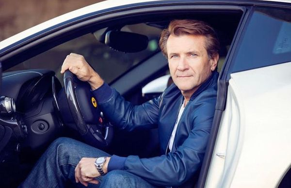 Robert Herjavec Really Loves Cars