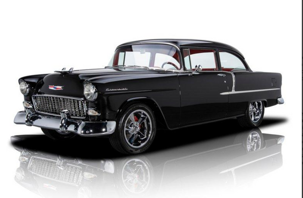 LS2-Powered 1955 Chevy 210 Restomod Pairs Timeless Show With Modern Go