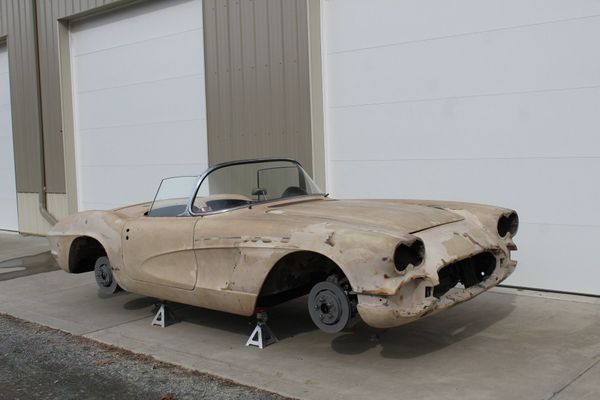 Pair Of C1 Corvette Project Cars Are Ripe For Restorations