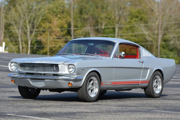 Steal The Show In This Fully Restored 1965 Ford Mustang Fastback