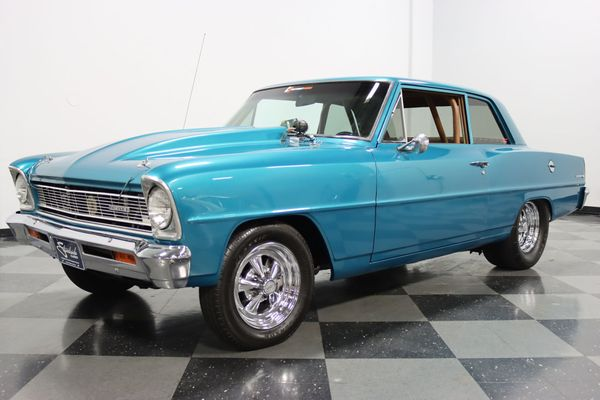 Unleash The Fury In This Potent 1966 Chevy Nova Pro Street