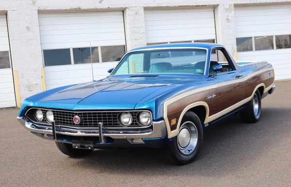 This 1970 Ford Ranchero Woodie Is The Ultimate Sleeper