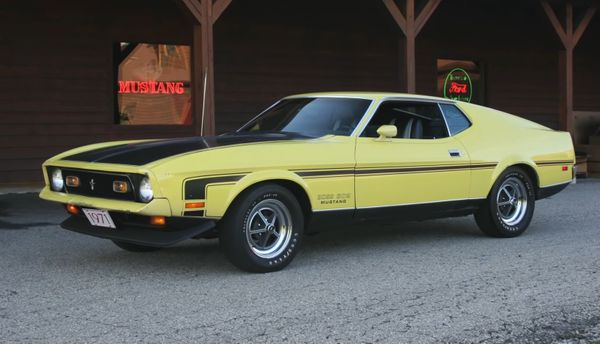 1-of-1 1971 Ford Mustang Boss 302 Prototype Being Restored