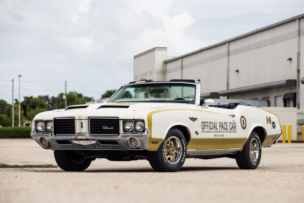 Lead The Pack In This Rare 1972 Hurst/Olds Pace Car Convertible