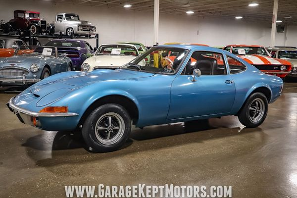 Command Attention In This One-Owner 1973 Opel GT Survivor