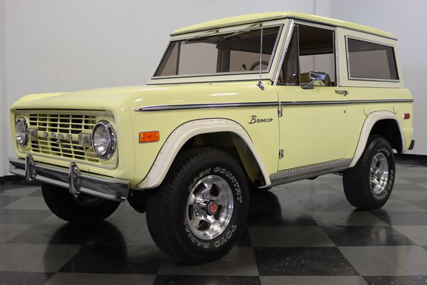 Early Bronco Is A Ford Off-Roading Icon