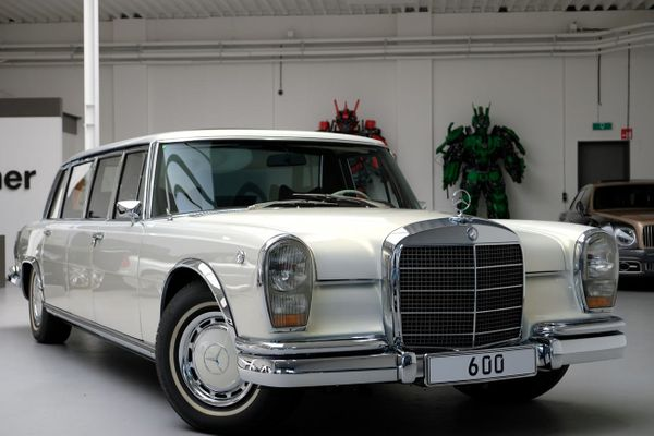 For $2.33M, Chauffeur In Style With A 1975 Mercedes-Benz Maybach Limo