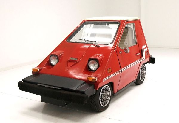Own A Piece Of EV History With This 1976 Citicar Electric Car
