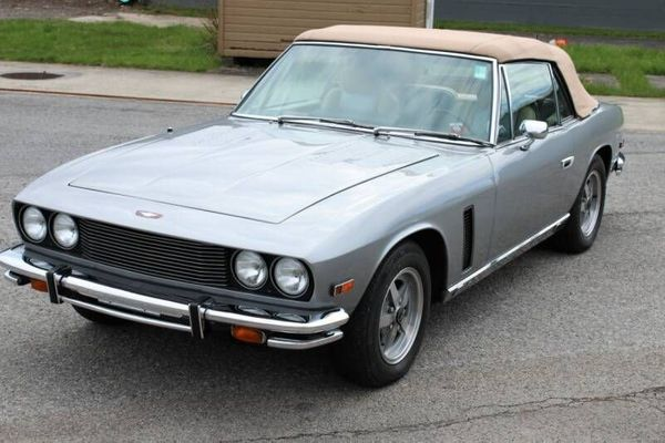Exude Class And Style In A Rare 1976 Jensen Interceptor Convertible