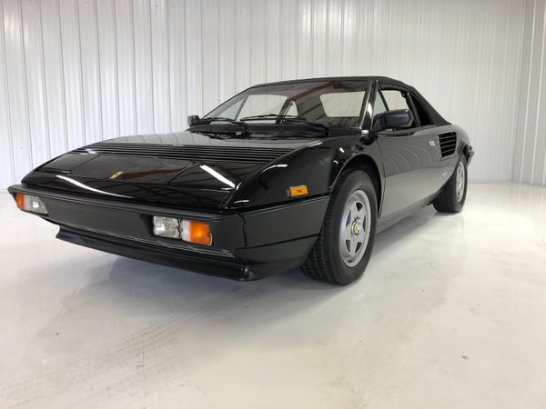 Triple-Black 1984 Ferrari Mondial QV Cabriolet Is A Rare Beauty