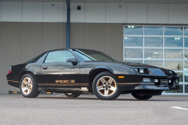 Own An Original 3K-Mile 1985 Chevy Camaro Z28 IROC-Z Time Capsule