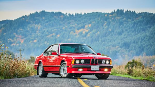 Ride A Unicorn With This Low-Mileage 1988 BMW M6