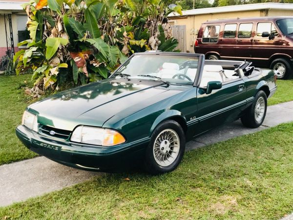 eBay Find: A Rare 1990 Ford Mustang Special 7-Up Edition