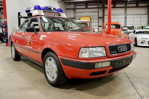 Get Fired Up For This 1992 Audi 80 Quattro