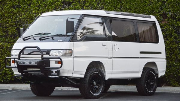 1992 Mitsubishi Delica Is The Diesel 4X4 Van You Didn't Know You Need