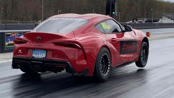 Stolen 2020 Toyota Supra Drag Race Car Recovered!