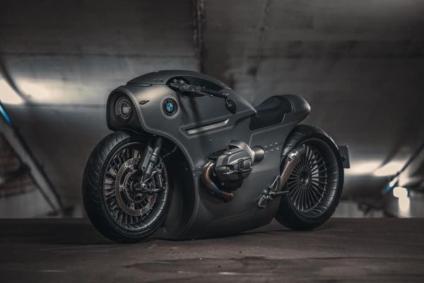 BMW R NineT Custom Is Cyberpunk Cool