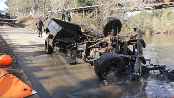 Chevy Silverado Pulled From Oregon River