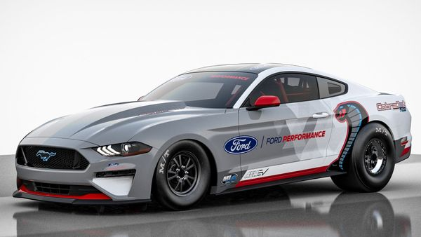Ford Performance Reveals All-Electric Mustang Cobra Jet 1400