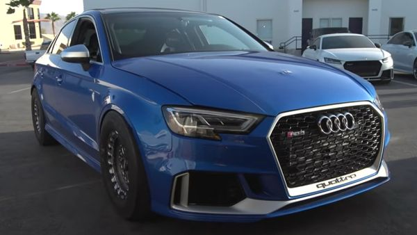 Behold A 1200-Horspower Audi RS3