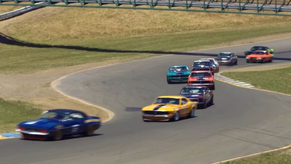 See Historic Trans Am Racers Get Flogged At Sonoma