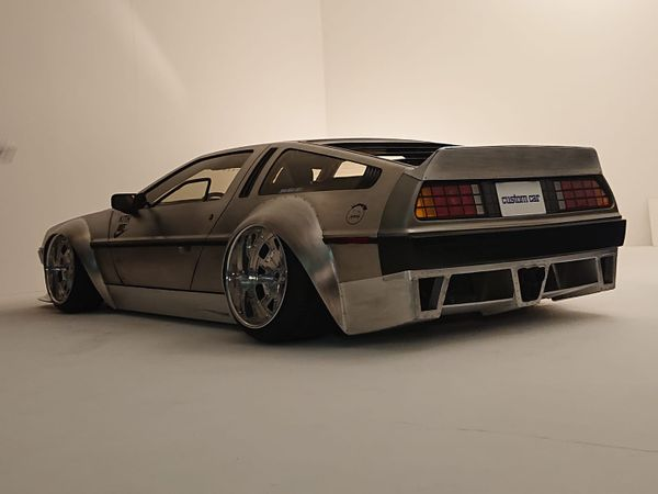 What Do You Think Of This Wide-Body DeLorean?