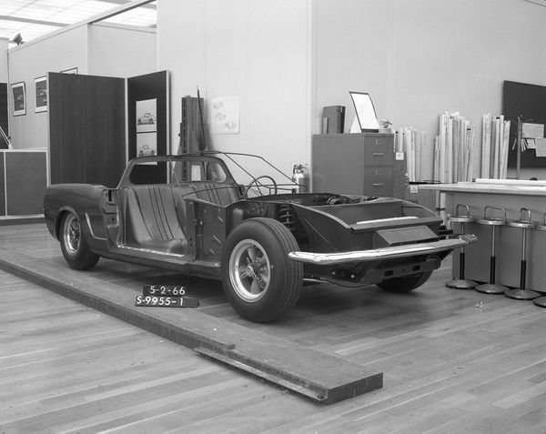 Mystery Mid-Engine Mustang From 1966 Baffles Ford