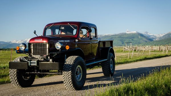 War-Proven '49 Power Wagon Transformed Into Custom Crew Cab
