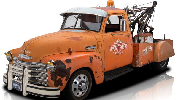1950 Chevrolet 3600 Tow Truck Is Perfect For Fun