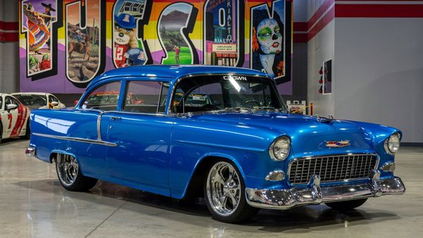 1955 Chevy 210 Restomod Is One Cool Custom