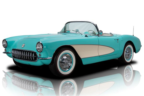 Stunning LS3-Powered 1956 Chevy Corvette Restomod Is Both Show And Go