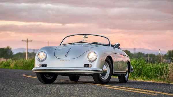 1958 Porsche 356A Speedster Is A Partially Restored Survivor