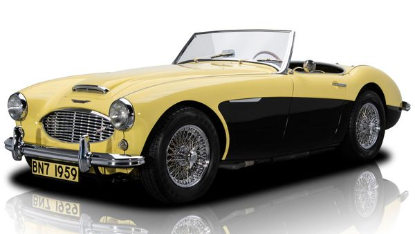 Rotisserie-Restored 1959 Austin-Healey 3000 Mark I BN7 Seeks Open Roads