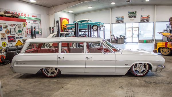 Ride Low And Slow In This 1964 Chevy Impala Wagon