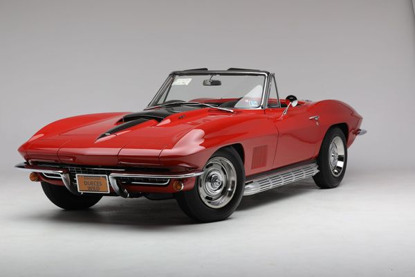 Own An Award-Winning 1967 Chevy Corvette Convertible L71