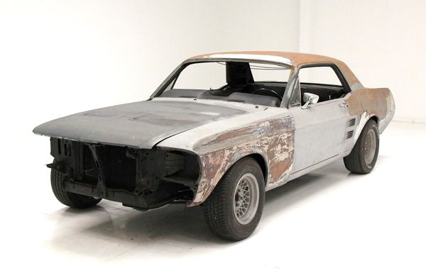 Would You Tackle This 1967 Mustang 'Barn Find' Project Car?