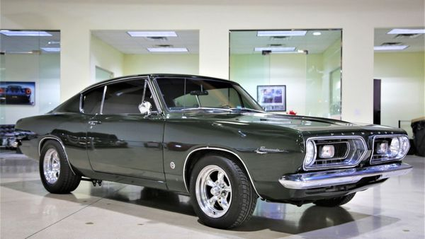 1967 Plymouth Barracuda Formula S Coupe With 825-HP Will Shock You