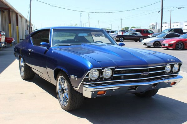 Cure The Blues With An LS3-Powered 1968 Chevy Chevelle Malibu Restomod