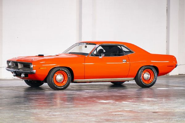 Former Drag Racing Hemi 'Cuda Is The Holy Grail Of Muscle Cars