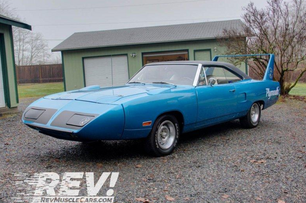 Two-Owner, Restored 1970 Plymouth Superbird Ready To Offer Thrills