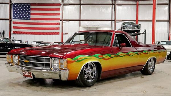 You'll Never See A 1971 Chevy El Camino Customized Like This Again